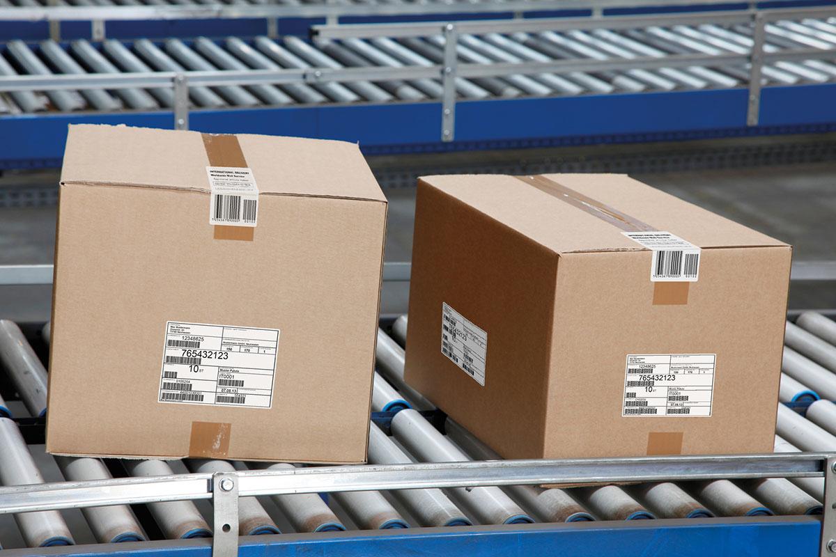 Etiqueta Sector Logistico Distribucion